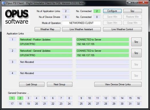 OpusFSX Live Weather instant weather updates, Live Camera
