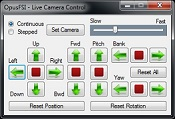 OpusFSI Camera Control for VC, 2D and custom view adjustment